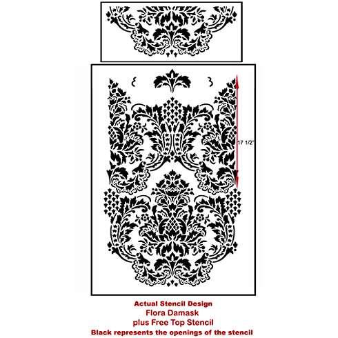 Flora-stencil-design