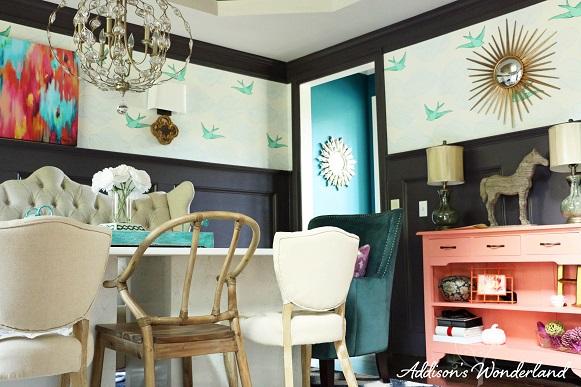 Whimsical Elegant Dining Room Addisons Wonderland
