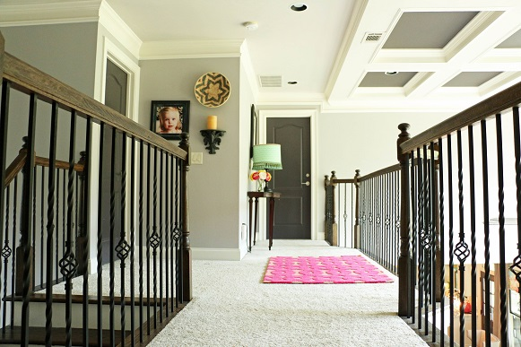 Upstairs Foyer Ideas : The most whimsical hallway of all addison s wonderland