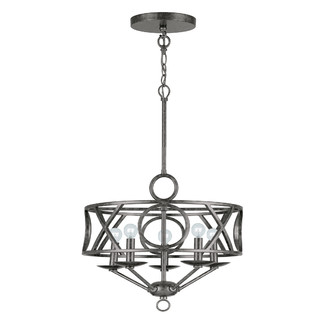 Crystorama Odette 5 Light Chandelier