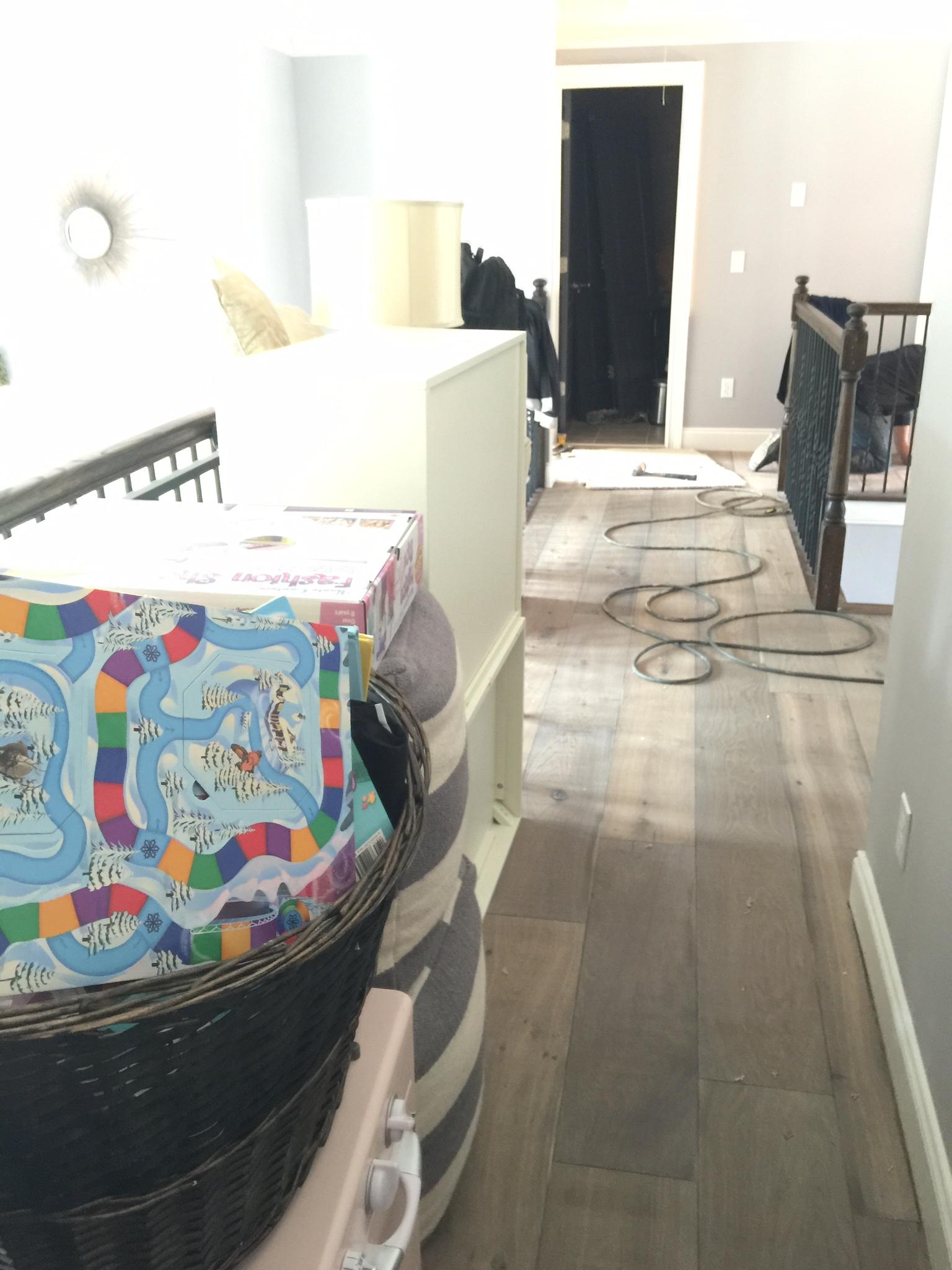 New White Oak Hardwood Flooring! - Addison\'s Wonderland