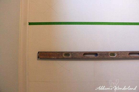 Painted Stripes Hardwood Floors 11