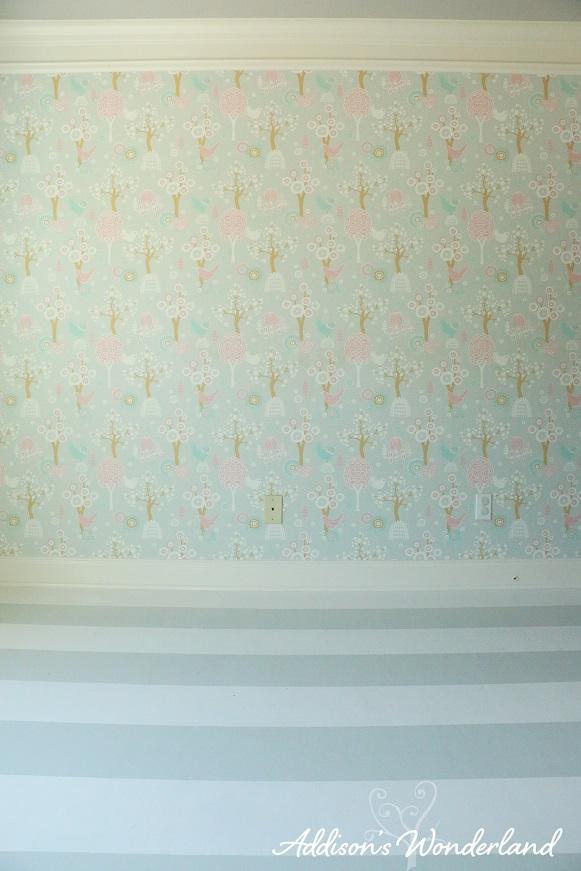 Painted Stripes Hardwood Floors 19