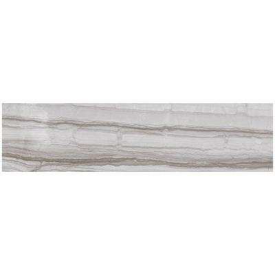 MARAZZI VitaElegante Grigio 6 in. x 24 in. Porcelain Floor and Wall Tile (14.53 sq. ft. / case)
