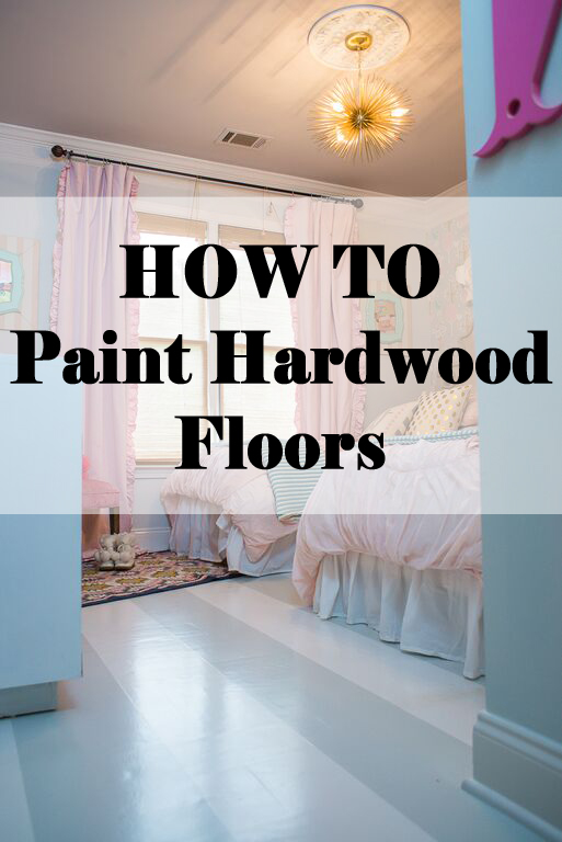 How To Paint Hardwood Floors Addisons Wonderland