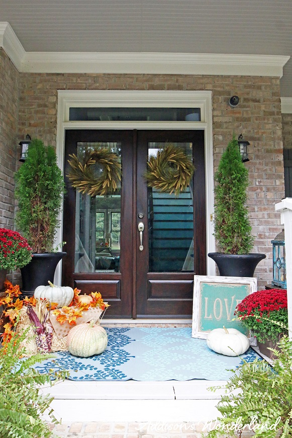 Fall Front Porch 12L