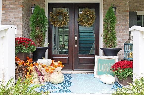 Fall Front Porch 13L