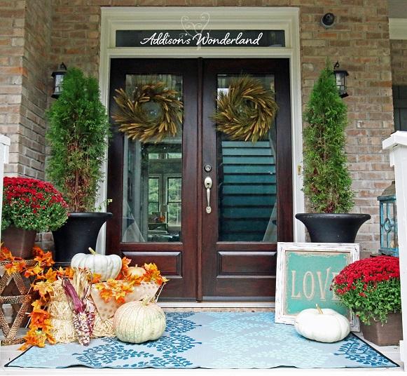 Fall Front Porch 1L