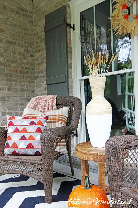 Fall Front Porch Makeover Addison S Wonderland