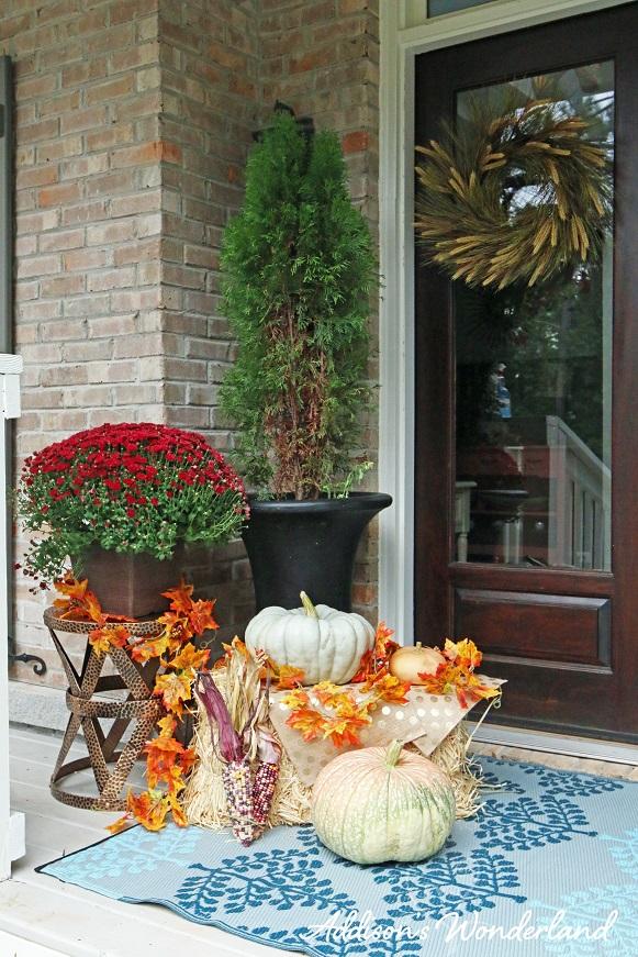 Fall Front Porch 2L