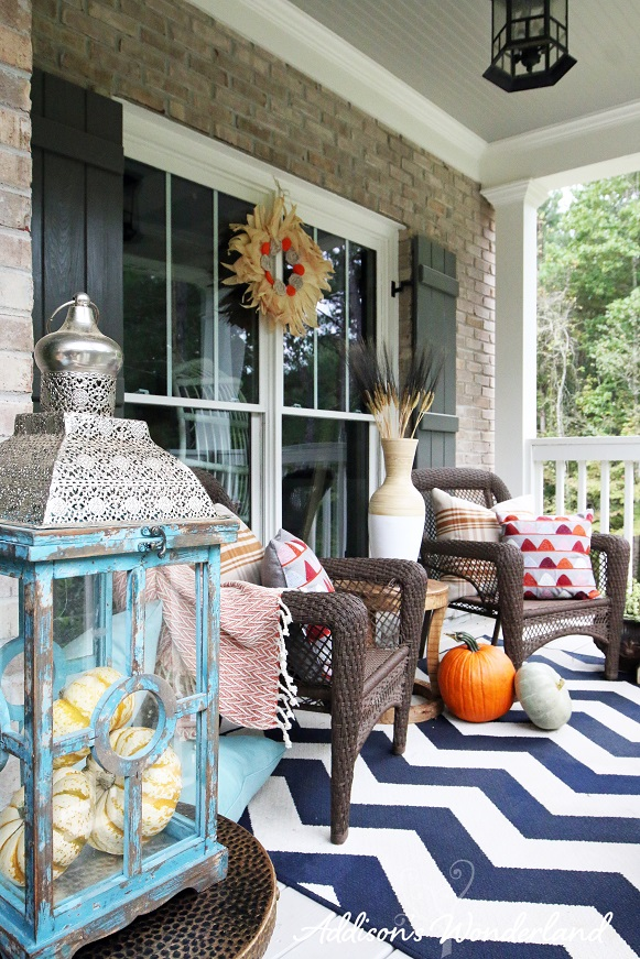 Fall Front Porch 7L