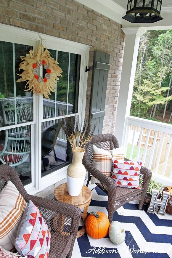 Fall Front Porch 8L