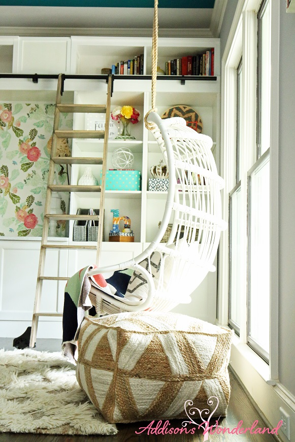 Hanging Rattan Chair 3L
