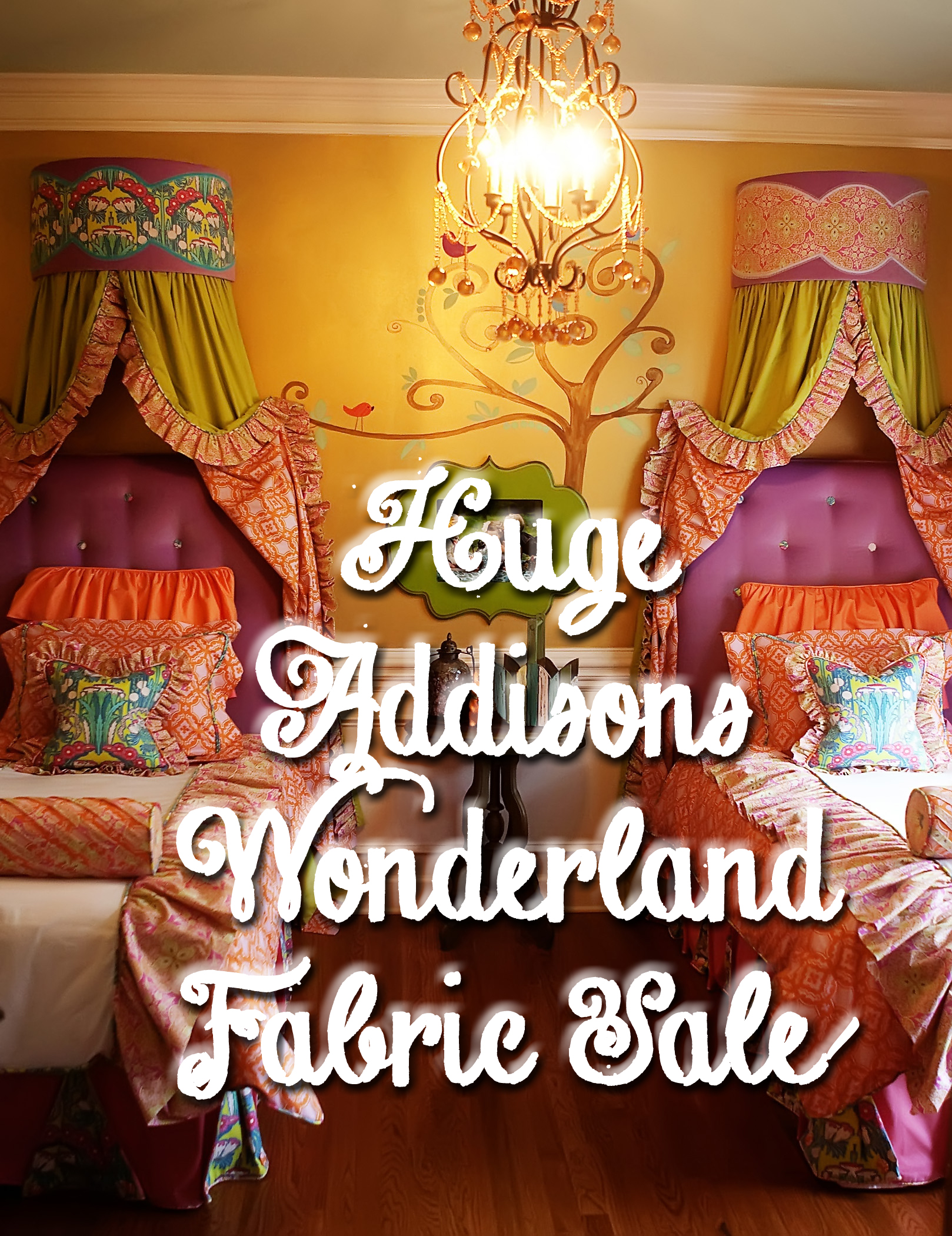 Addison's Wonderland Fabric SALE!!!
