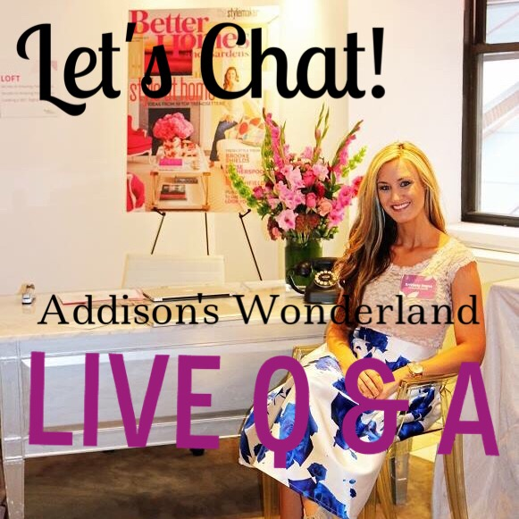 Live Q & A Virtual Design Chat!