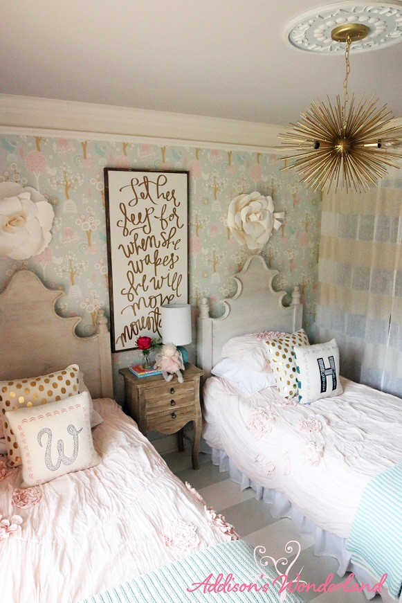 Winnies Little Girl Room Design Reveal Addisons Wonderland