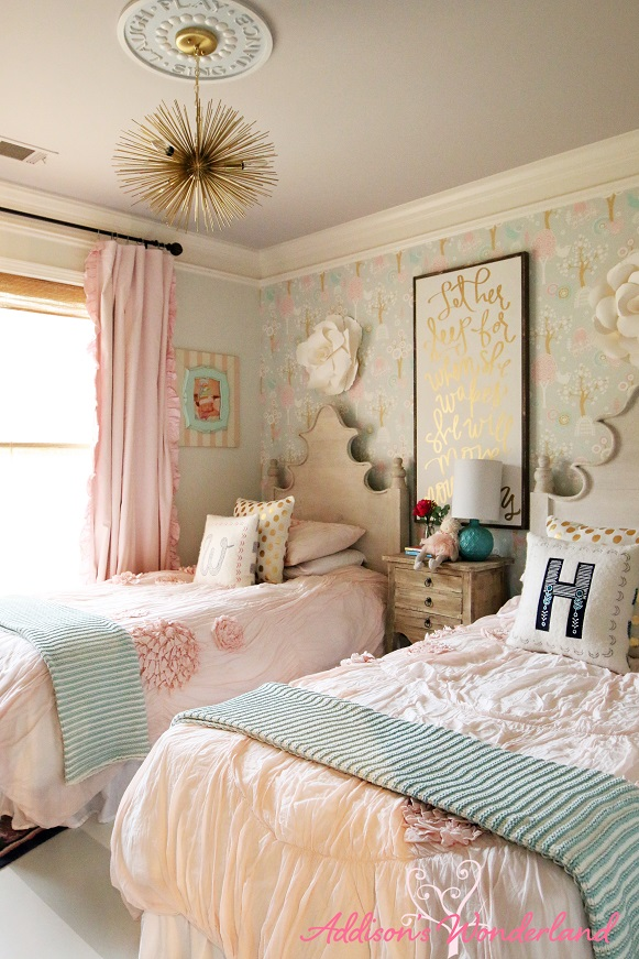 Winnie S Little Girl Room Design Reveal Addison S