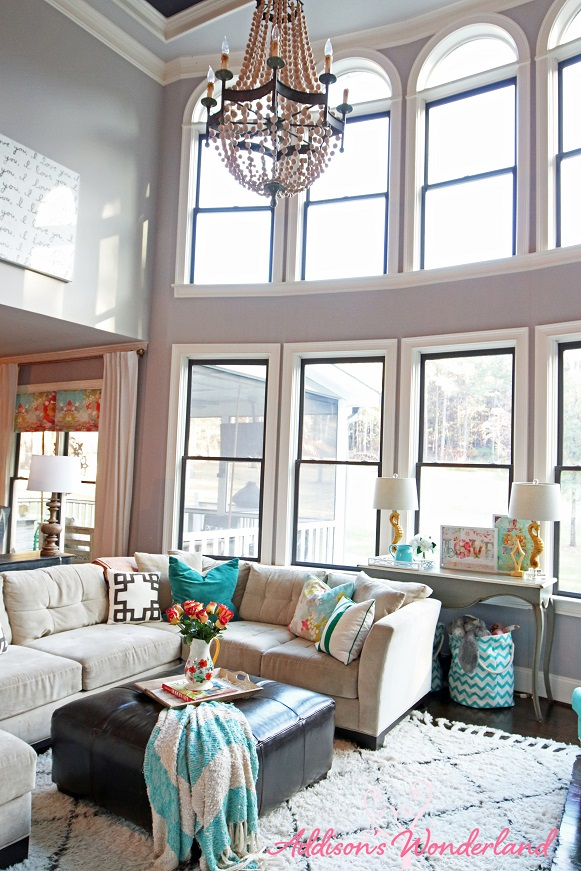 Our Two Story Living Room Reveal  Addison's Wonderland. Tips For Decorating A Small Living Room. Black And White Wall Pictures For Living Room. Rustic Decor Ideas Living Room. Ideas For Living Room Decor In Apartment