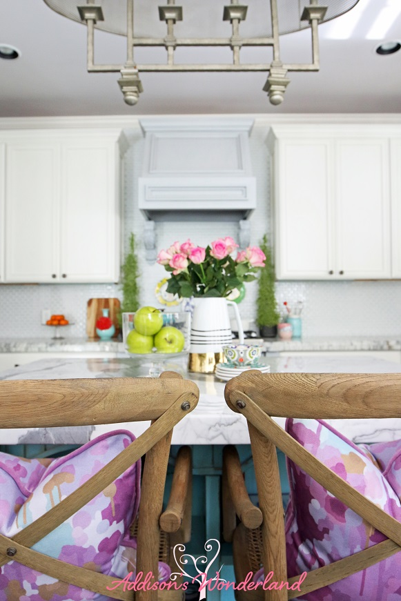 White Kitchen Reveal 4L