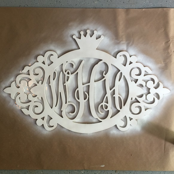 Wooden Monogram DIY 3