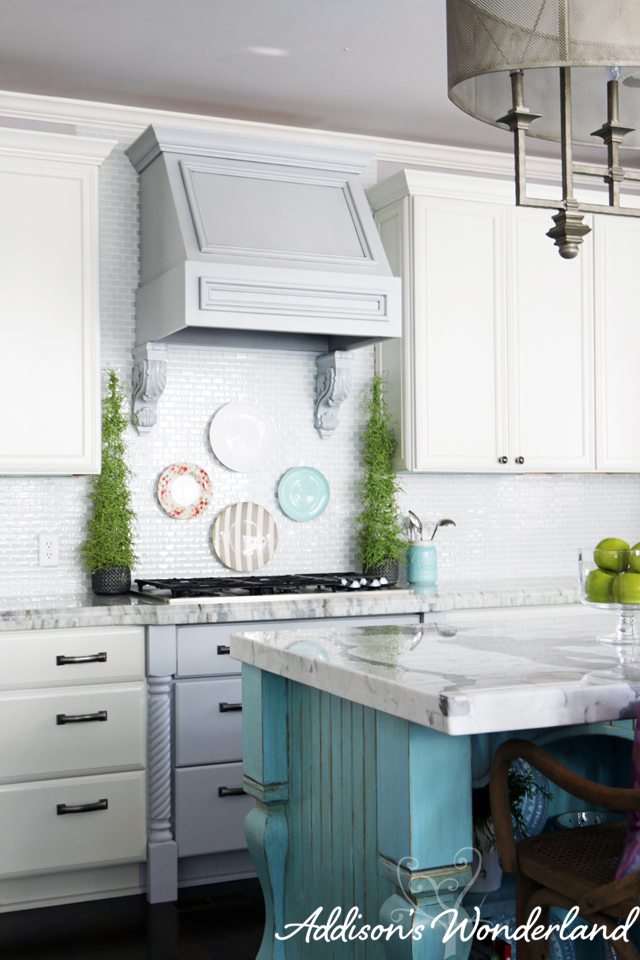 How to Hang Plates on Kitchen BAcksplash 20 copy