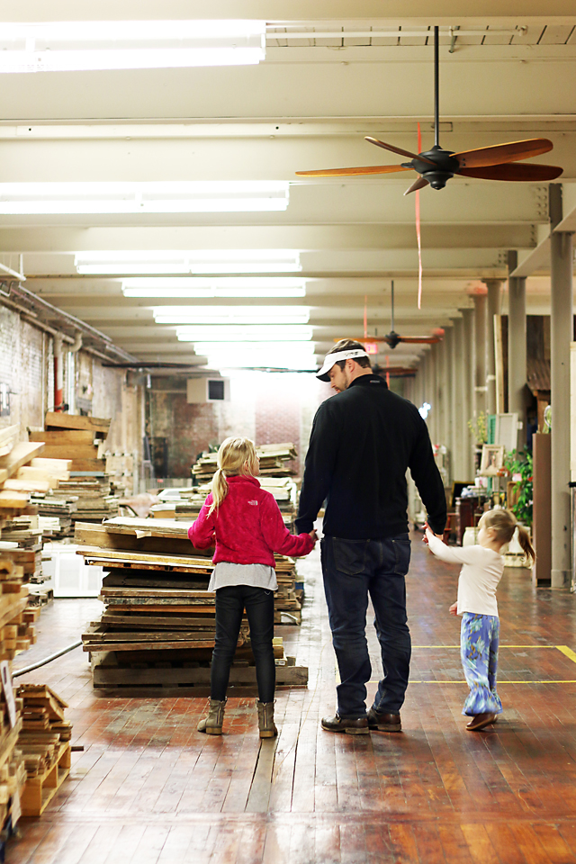 Antiquing as a Family