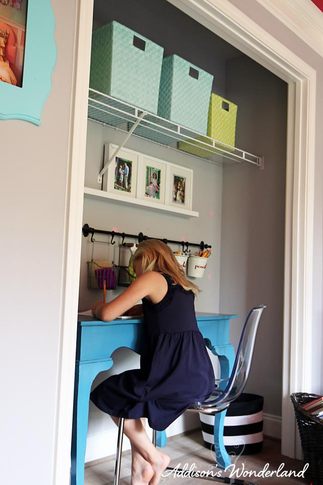 Closet Desk Nook 5