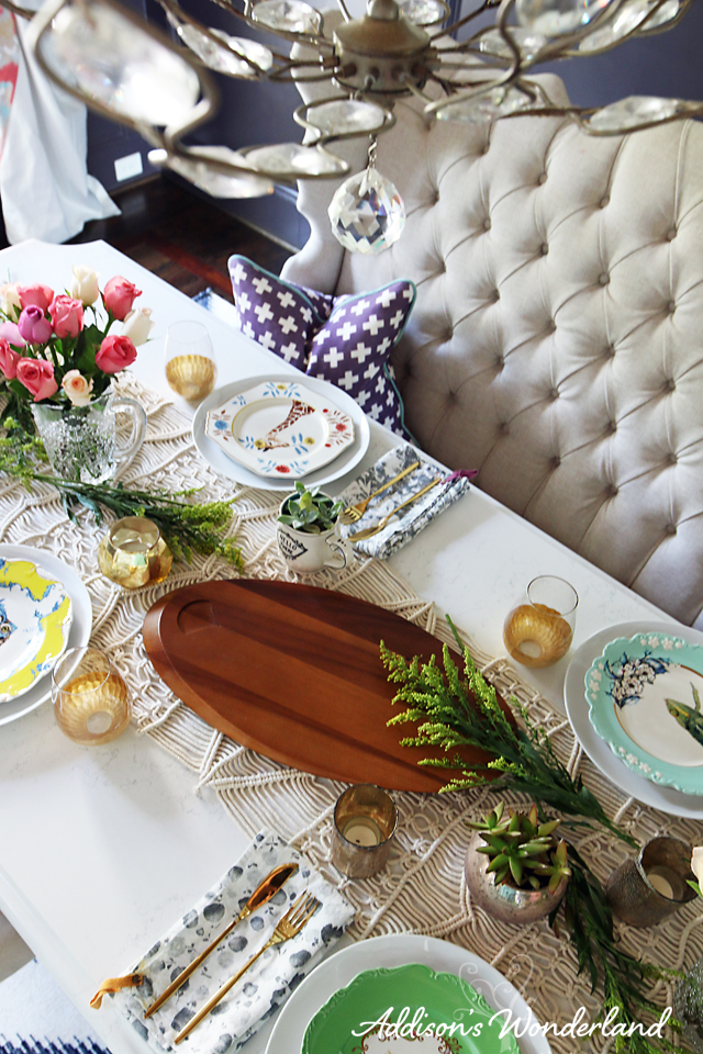 A2 Vintage Chic Table Display