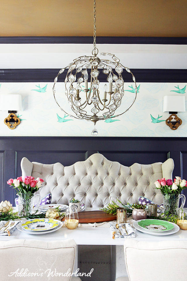 A3 Vintage Chic Dining Room Decor