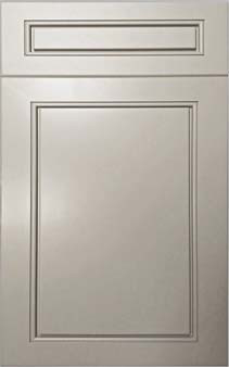 Grey Cabinet Door