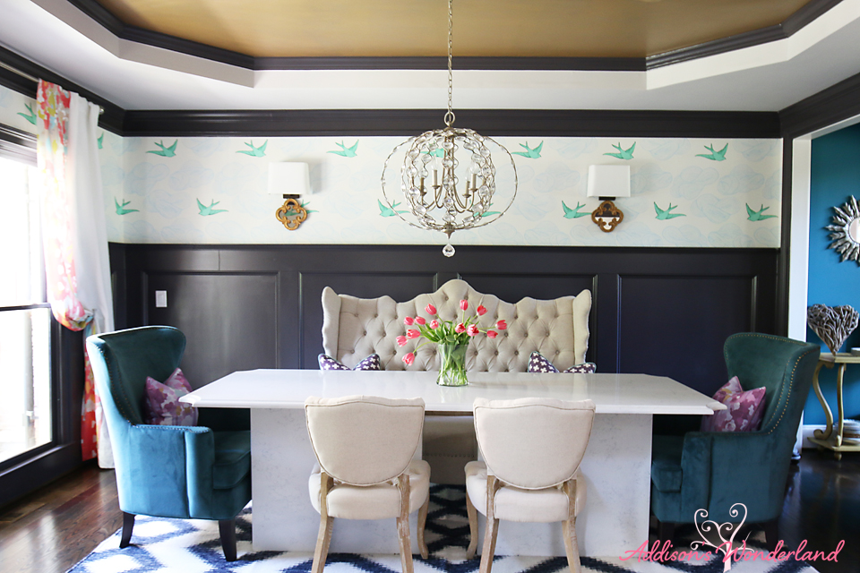 Summer Home Tour Dining Room 4