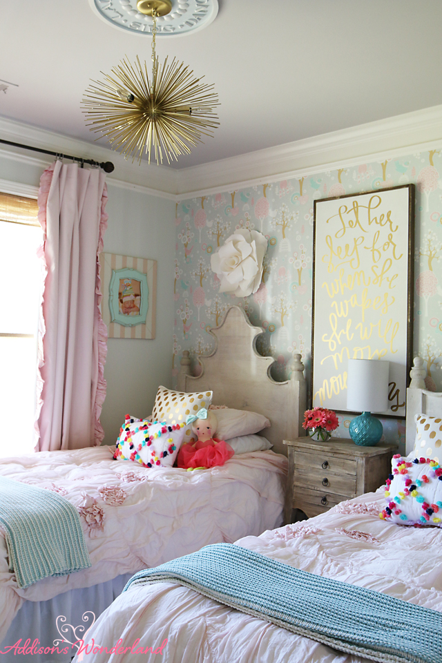 Summer Home Tour Girl's Bedroom 10