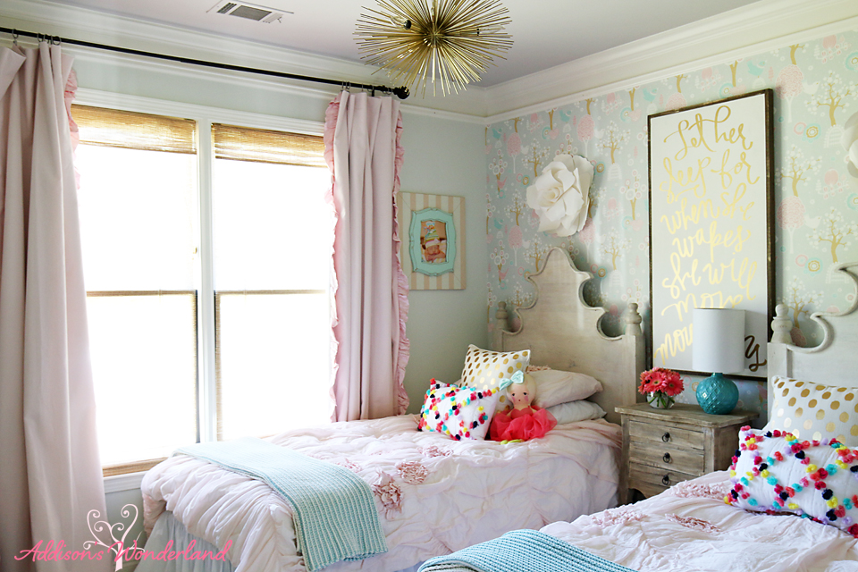 Summer Home Tour Girl's Bedroom 2