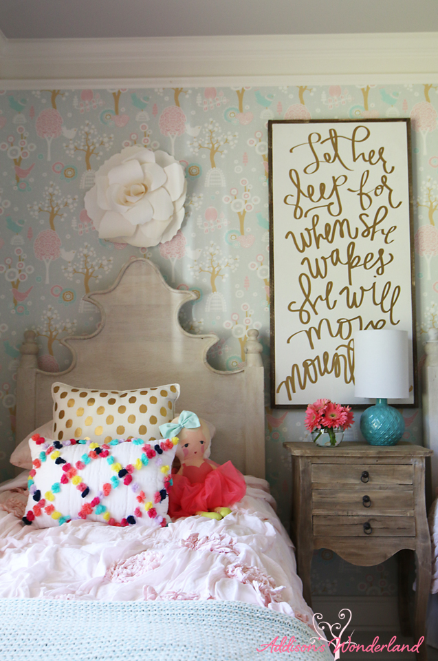 Summer Home Tour Girl's Bedroom 6