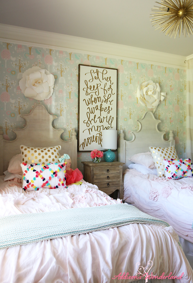 Summer Home Tour Girl's Bedroom 8