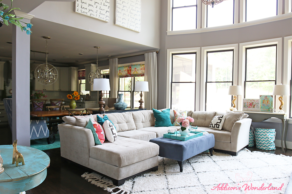 Summer Home Tour Living Room 19