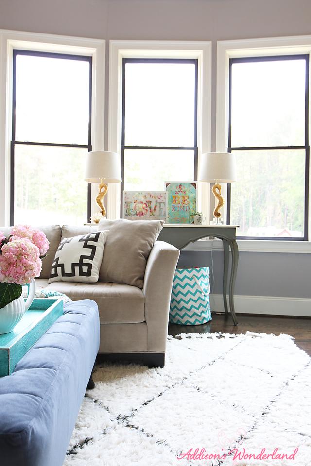 Summer Home Tour Living Room 20