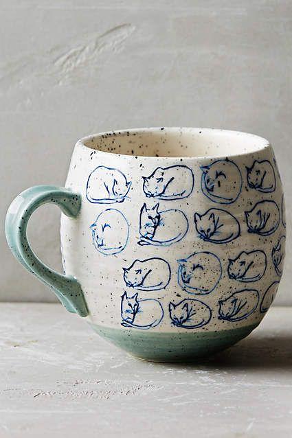 Cat Study Mug