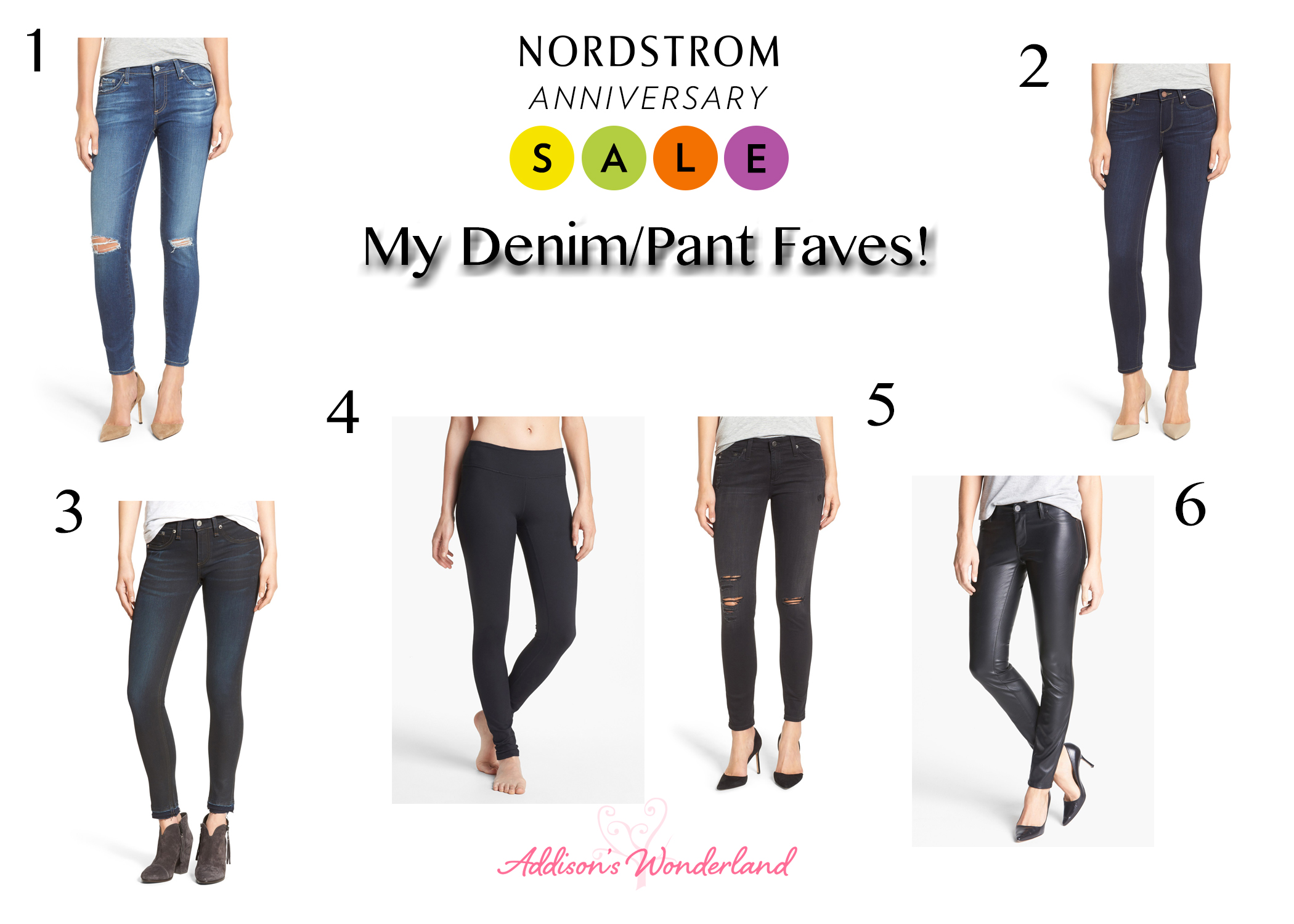 Nordstrom Anniversary Sale Denim Pants