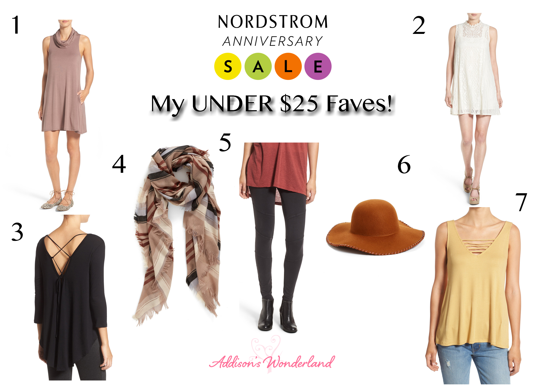Nordstrom Anniversary Sale Under $25