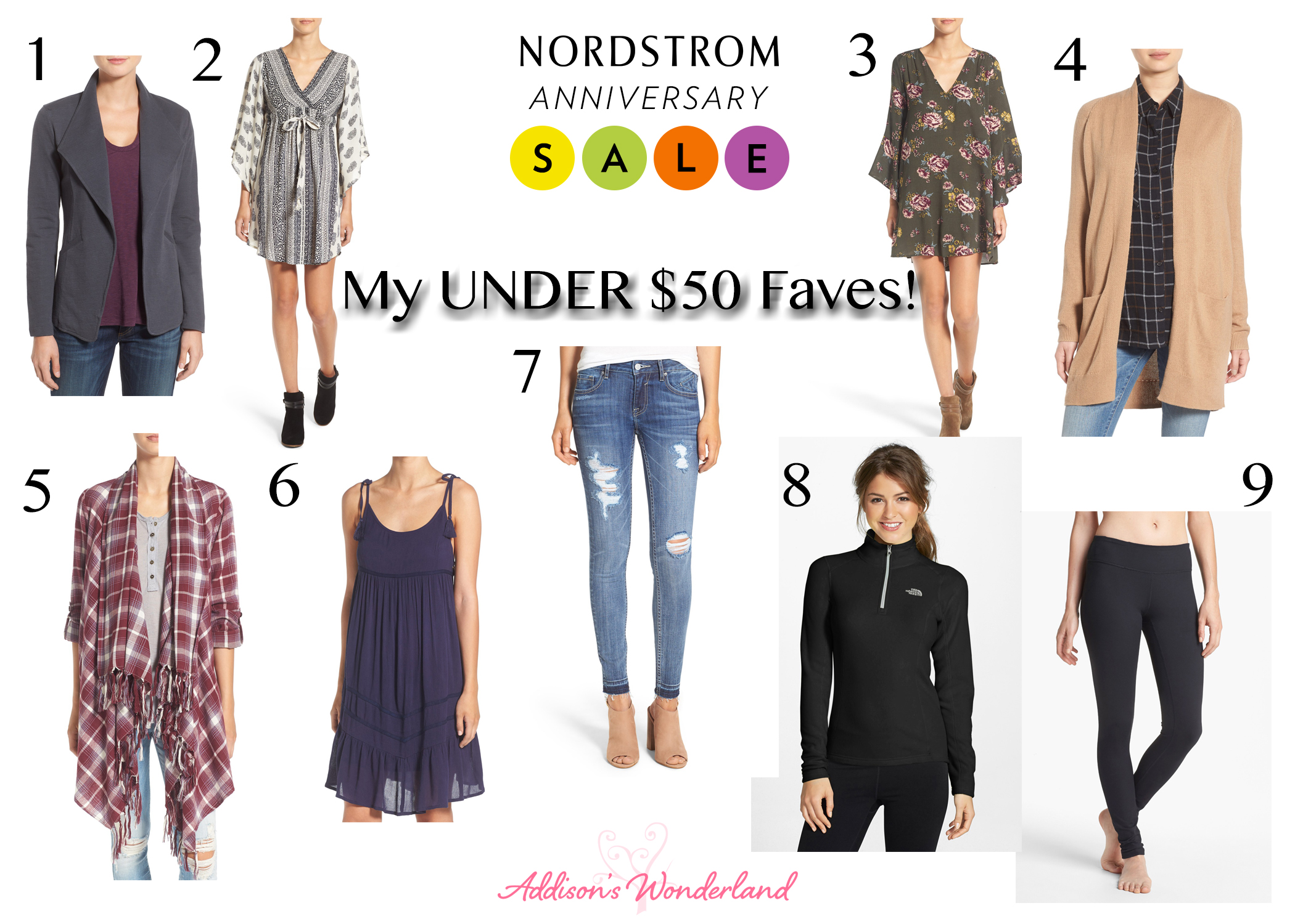 Nordstrom Anniversary Sale Under $50