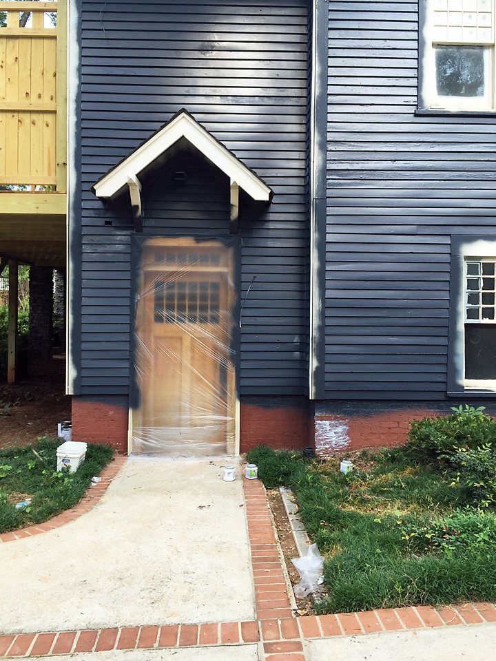 Craftsman Exterior House Soot Benjamin Moore 2