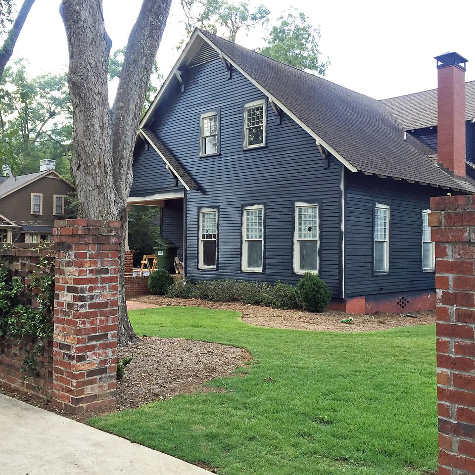 Craftsman Exterior House Soot Benjamin Moore 3