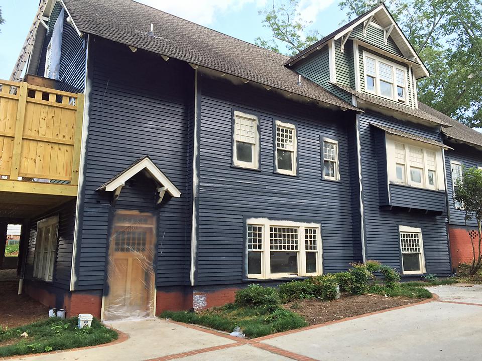 Craftsman Exterior House Soot Benjamin Moore 5