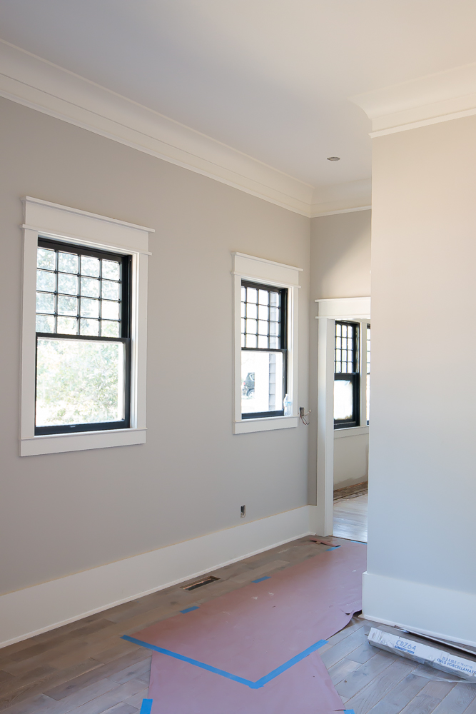 Trim ceilings and moldings oh my addison 39 s wonderland for Room with no doors or windows