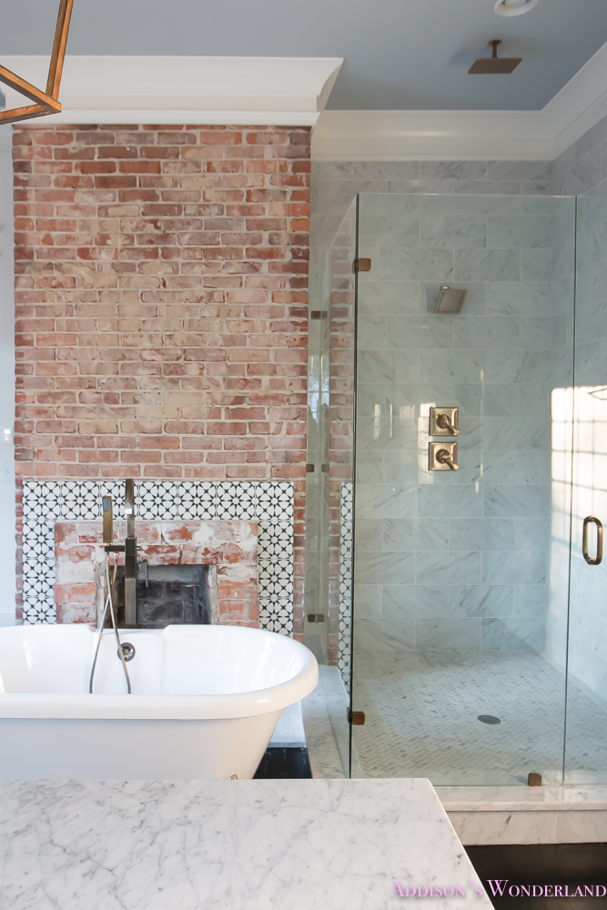 master-bathroom-white-marble-clawfoot-tub-antique-brass-bath-28-of-19