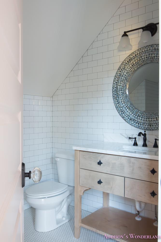shaw-floors-white-subway-tile-hexagon-tile-rose-doors-11-of-12 ...