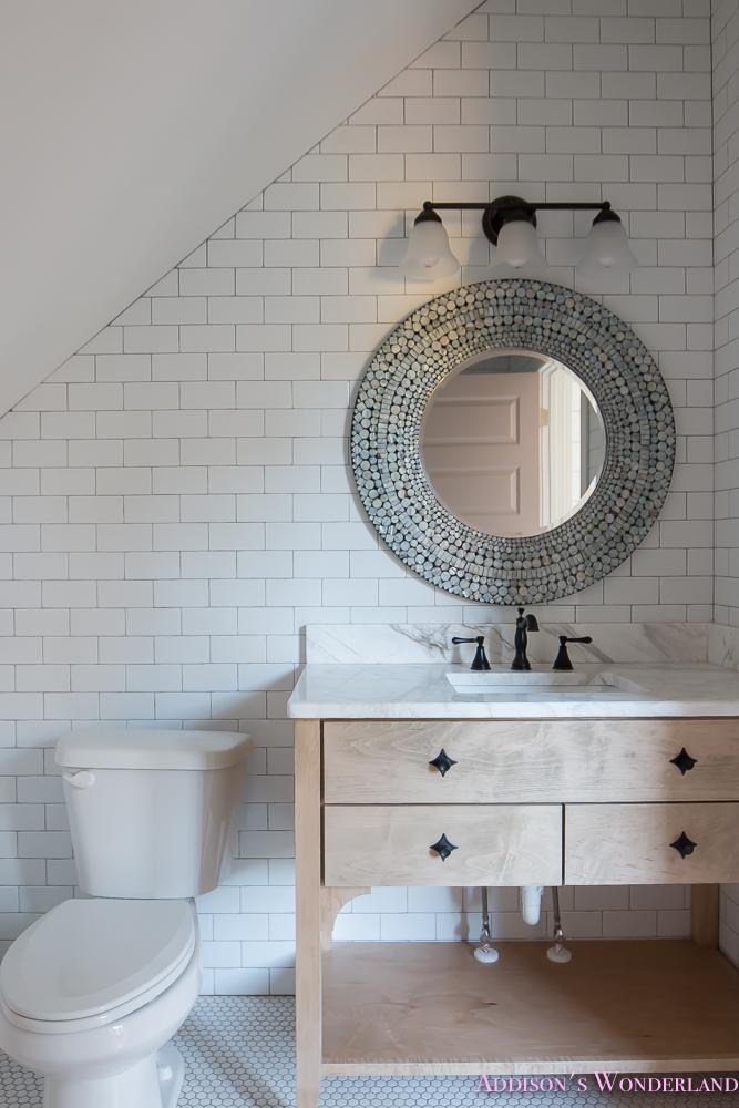 shaw-floors-white-subway-tile-hexagon-tile-rose-doors-2-of-12 ...