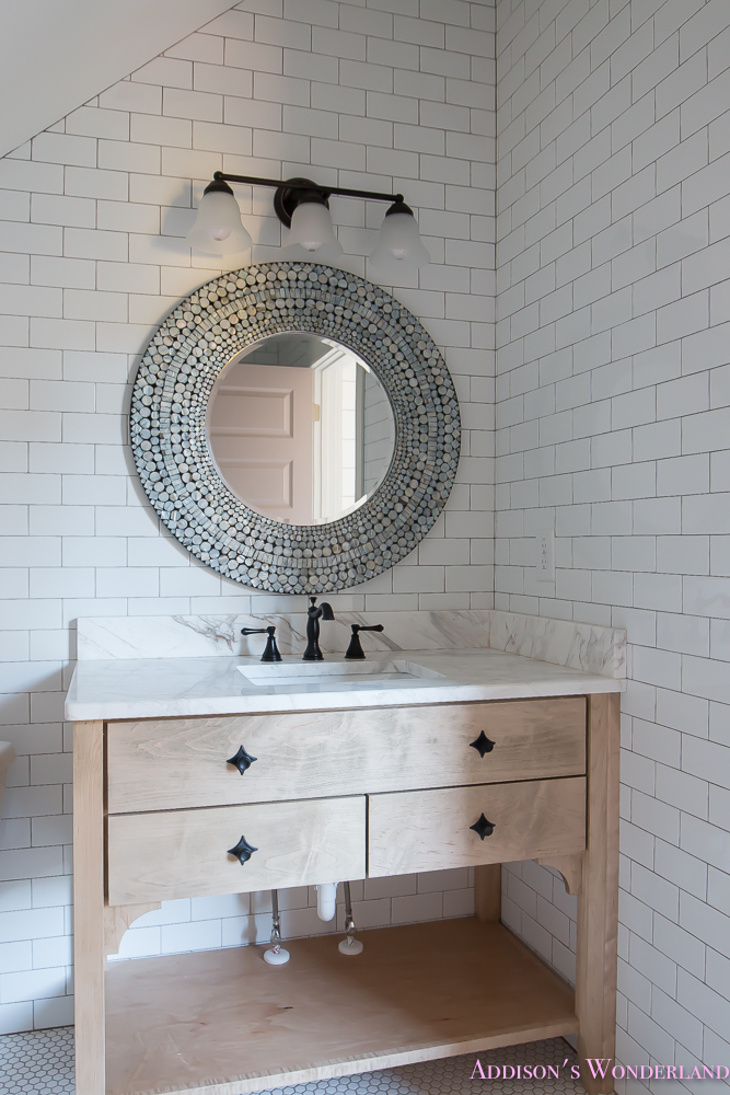 shaw-floors-white-subway-tile-hexagon-tile-rose-doors-3-of-12 ...