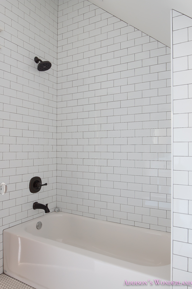 Shaw Floors White Subway Tile Hexagon Rose Doors 4 Of